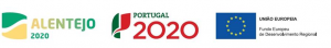 Laserbending: logos Portugal 2020